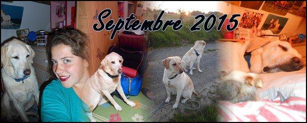 ► Bilan Mensuel Septembre - 2015