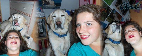 « Avoir un chien qui a la même déficience mental que toi, n'est que pur bonheur. » ♥