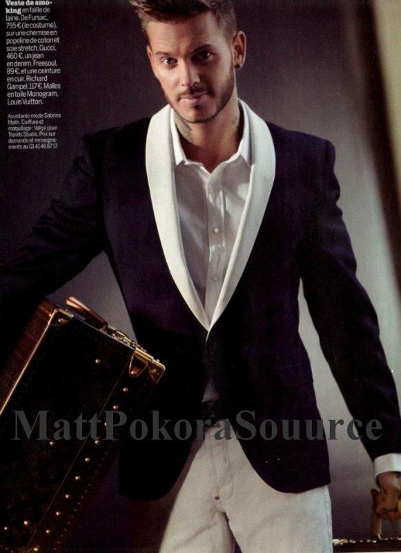 Matt pour le magasine Cosmopolitan