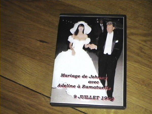 Mariage filmé de Johnny et Adeline 9.07.1990