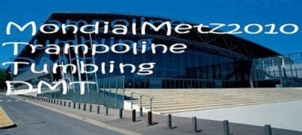 27èmes Championnats du Monde de Trampoline, Tumbling et Double Mini-Trampoline du 08 au 14 Novembre 2010