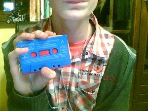 Porte-Monnaie Cassette Audio