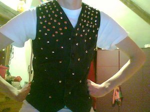 Studded Vest