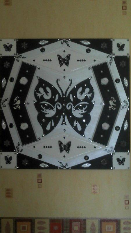 Toile papillon