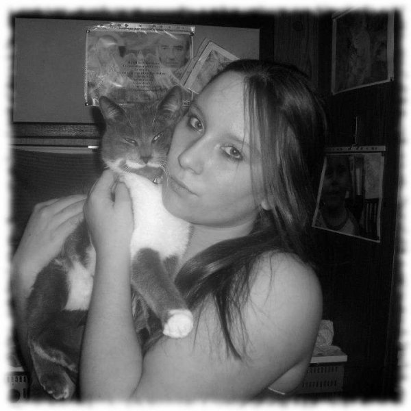 Moi et mon chat :)