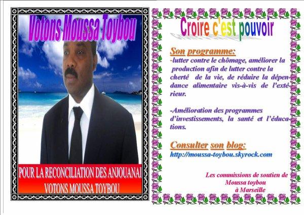 Votons Moussa Toybou
