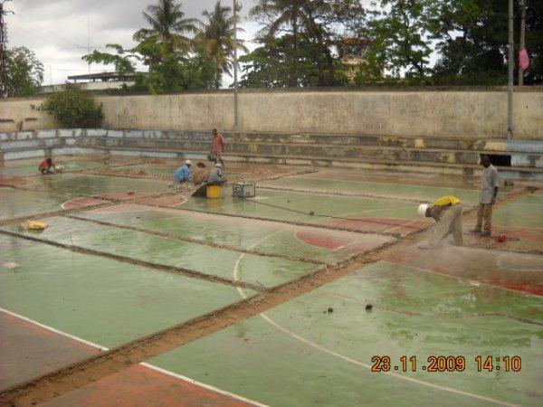 Terrain de basket - Comores