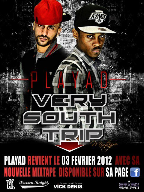 "PLAYAD ""VERY SOUTH TRIP"" DISPONIBLE, ALBUM FIN D'ANNÉE 2012"