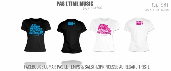 "<TEE SHIRT FEMME ""MISS PAS L'TIME""> DISPONIBLE DES MAINTENANT ."