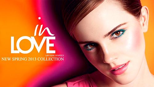 Emma pour Lancôme - In Love - Printemps 2013 :