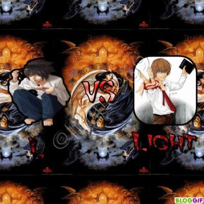 Death Note : Light VS L