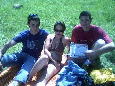 Chris, Antho et moi
