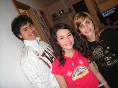 Aurore,Ornella et moi