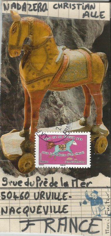 Valérie CERAVOLO ( Projet : Le cheval)