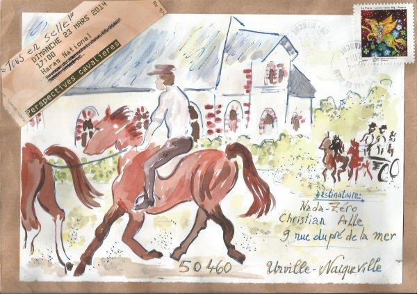 Marcelle SIMON (Projet : Le cheval.)