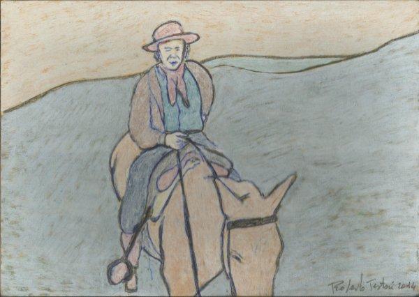 Roberto TESTORI . Projet : Le cheval