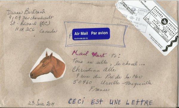 Dianer Bertrand (Projet : le cheval)