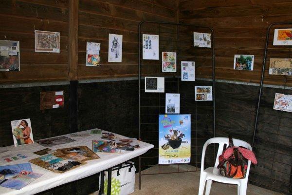 Expo mail Art et Stand France Parkinson.