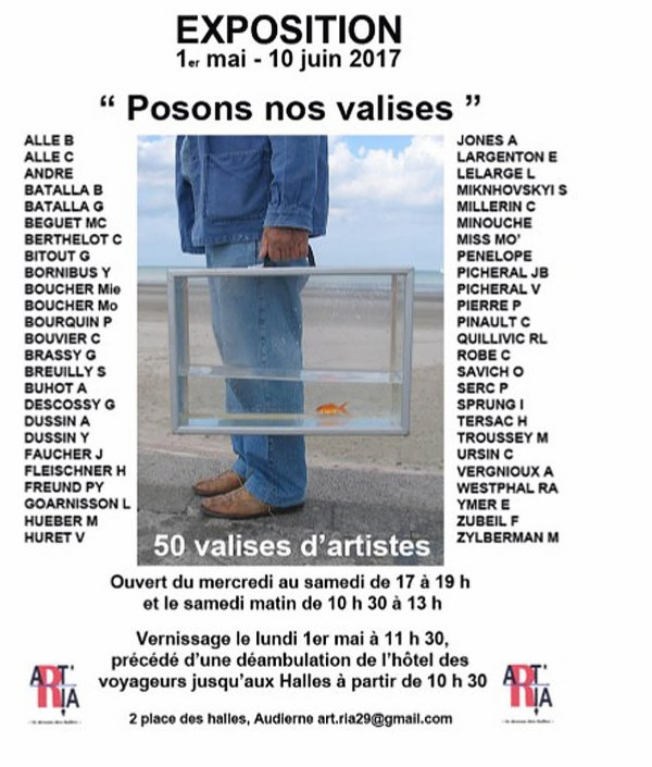 POSONS NOS VALISES A AUDIERNE