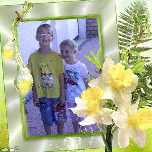 mes enfants que  j'aime plus que tous