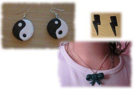 yin & yang   & eclair & Noeud