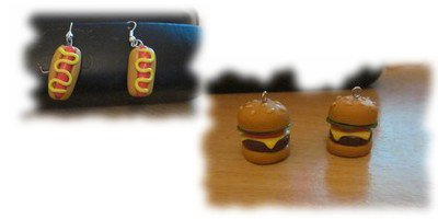 hot dog  & hamburger