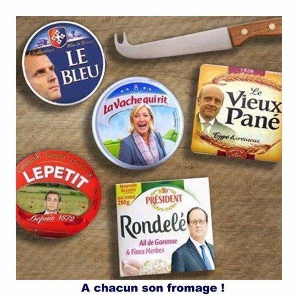 Comme disait le Grand Charles : un pays avec autant de fromages est ingouvernable.