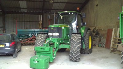 Tracteur JD 6920 de notre cousin