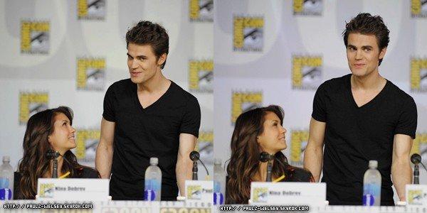 20.07 Panel du cast du Vampire Diaries au Comic-Con de San Diego/