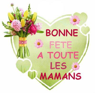 Bonne Fête à toutes les mamans de mes amis !!!!!