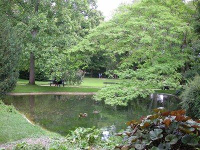 parc blossac poitiers