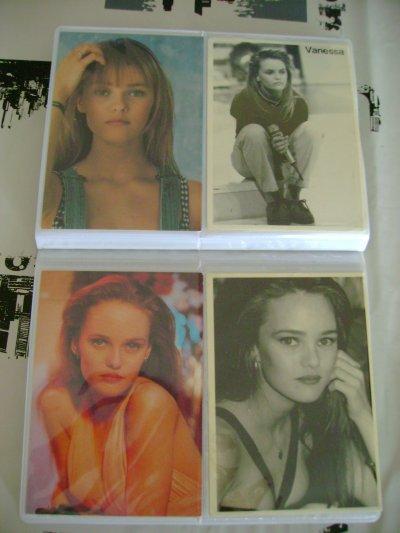 Mes carte postale de Vanessa Paradis