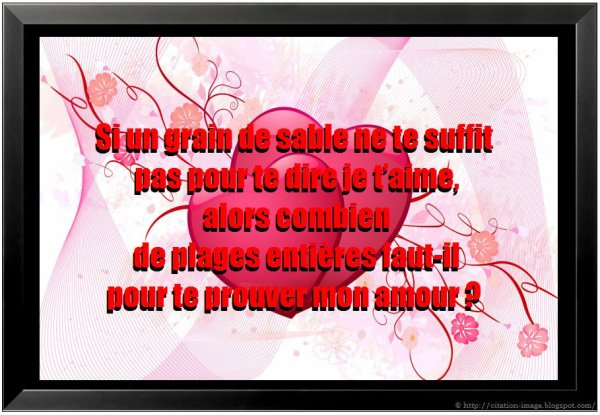 Je T'aime Tant !!!!