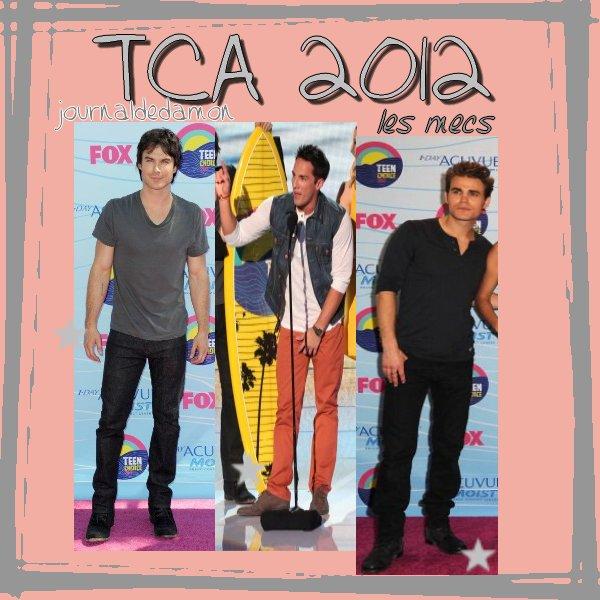 Teen Choice Awards 2012 !La série a reçu 6 prix ! (c'est tvd, quand même ;))