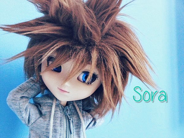#1 Sora // Pullip Chelsea (Custom to Boy) // Keyblade. ~ ♥