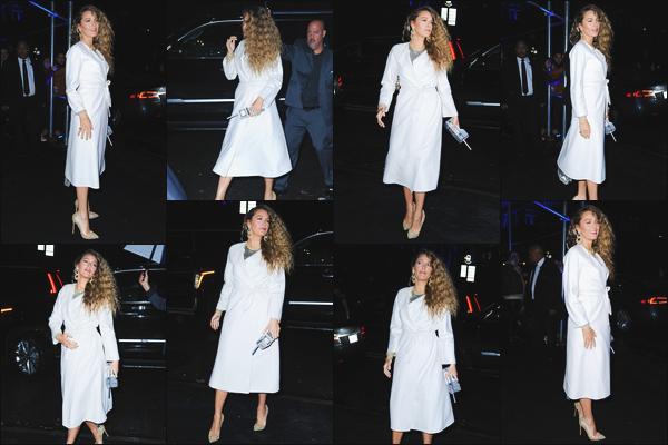 - ''•-02/12/18-'  Blake a été vue alors qu'elle arrivait au défilé : « Versace Pre-Fall 2019 fashion show » dans NYC. Je dois dire que je trouve que notre actrice est de toute beauté lors de cet événement, je lui accorde donc un grand top pour sa mise en beauté et vous ? -