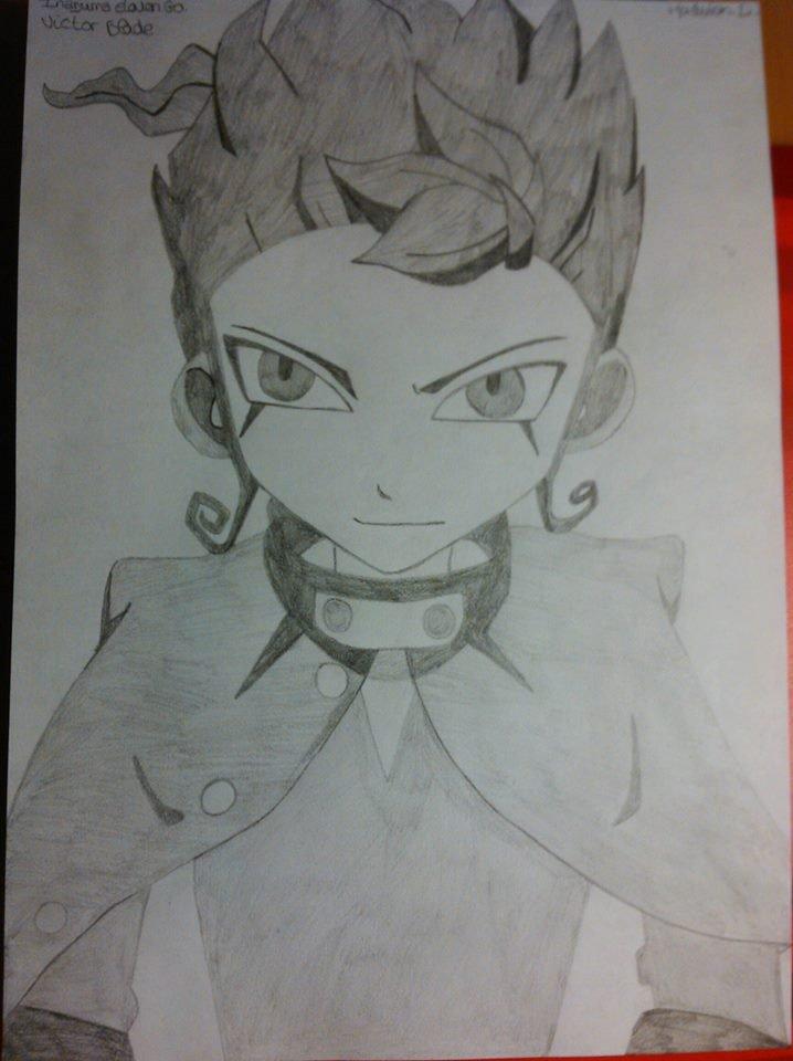 -Dessin de Victor Blade d'Inazuma Eleven Go ! (Oui,c'est moi qui l'a fais.)