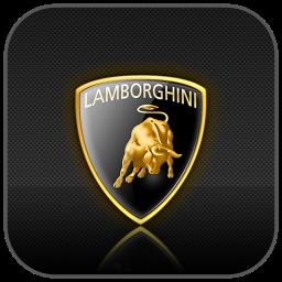 logo de la lamborghini aventador - shoogint