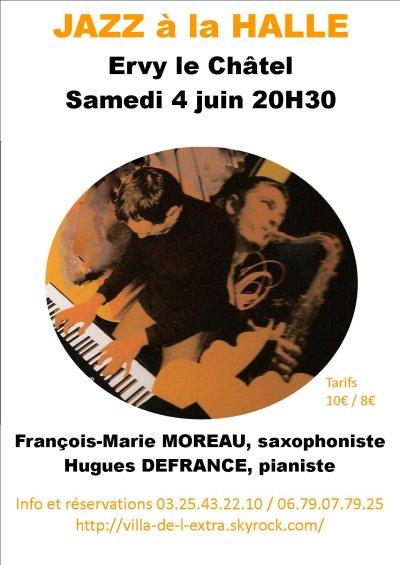 le 4  juin, Jazz à la HALLE