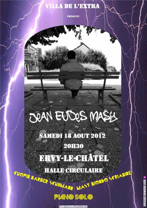 Récital piano Jean Eudes MASY le Samedi 18 Aout à 20h30