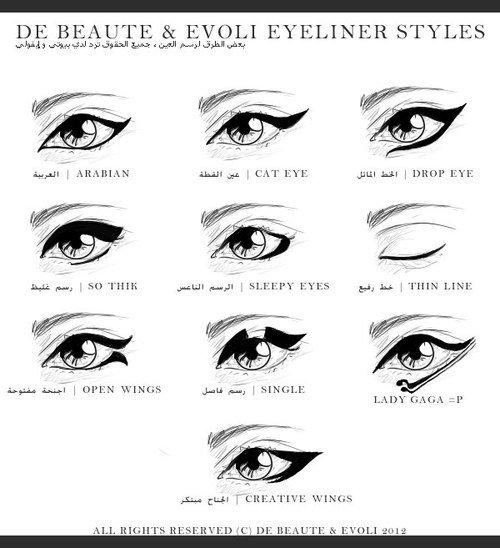 tout savoir sur le trait d 39 eyeliner make up astuces techniques nouveaut s. Black Bedroom Furniture Sets. Home Design Ideas