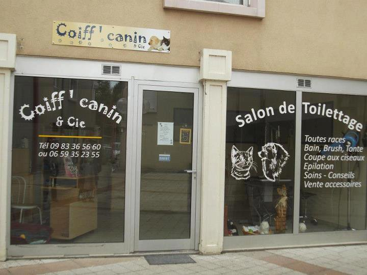 Enseigne salon de toilettage canin d couvrez for Salon de toilettage canin