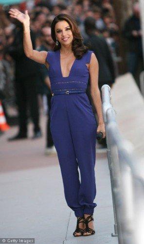 Eva Longoria en combinaison .