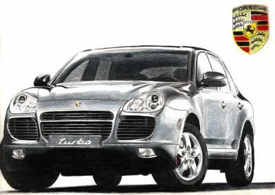 Porsche cayenne west coast 39 s car - Dessin de porsche ...