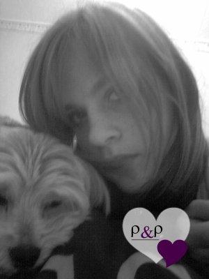 ma chienne et moi <3