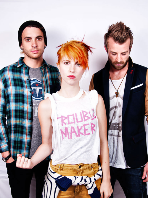 -Taylor York, Hayley Williams et Jeremy Davis-