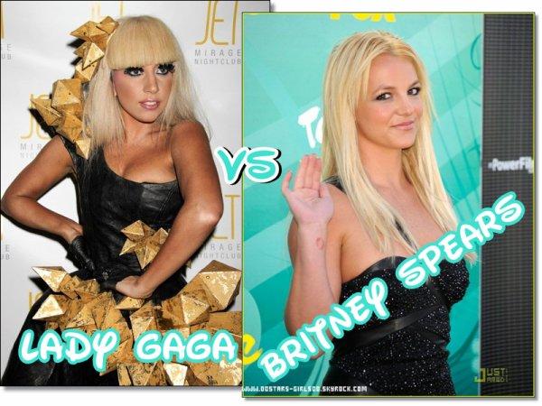 Duel:Lady Gaga VS Britney SpearsPosté : 29.08.11   By : Alexandra