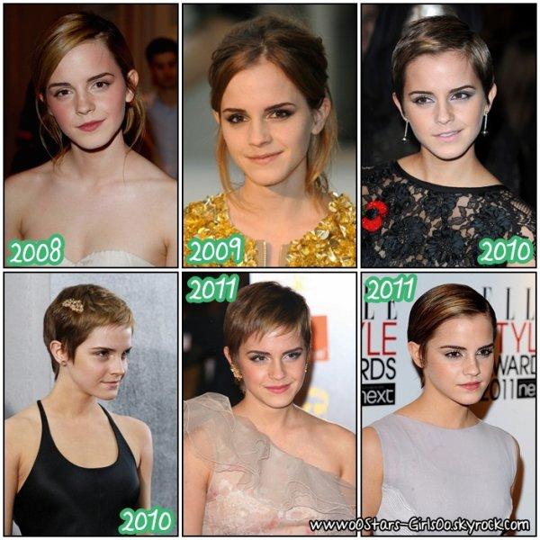 Evolution :Emma Watson  Posté : 06.09.11   By : Alexandra