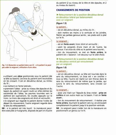 Differentes positions du malade dans un lit ensemble - Position du lit ...