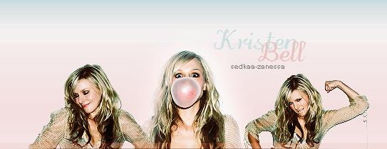 Kristen Bell { Newsletter }